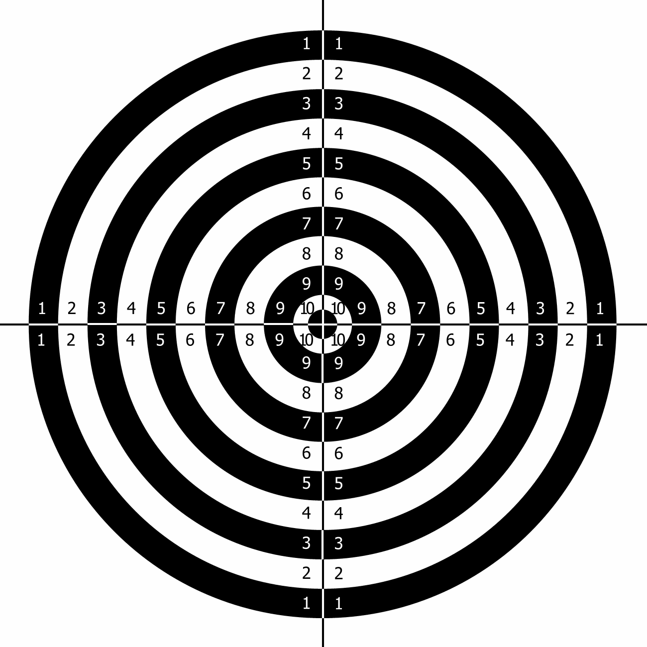 It's just an image of Accomplished Shoot Target Print