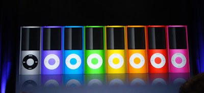 New iPod Nano colors