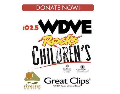 wdve rocks children radiothon jim krenn