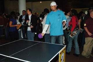 Ben Roethlisberger Plays Ping Pong Charlie batch Foundation