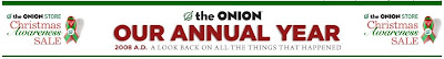 The Onion 2008 Headlines Year Review