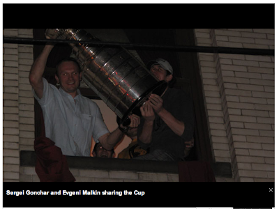 Penguins Celebrate with Stanley Cup in the Streets of Pittsburgh