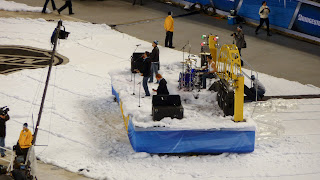 the clarks playing at the 2011 winter classic pittsburgh pa
