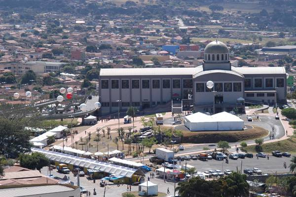 Basílica do Divino Pai Eterno, Trindade, Goiás, Brasil
