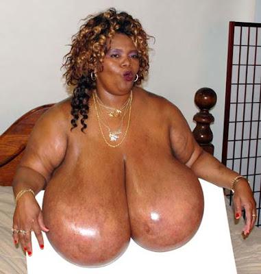 biggest tits record