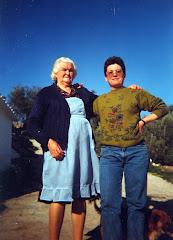 Mi madre y mi tia María