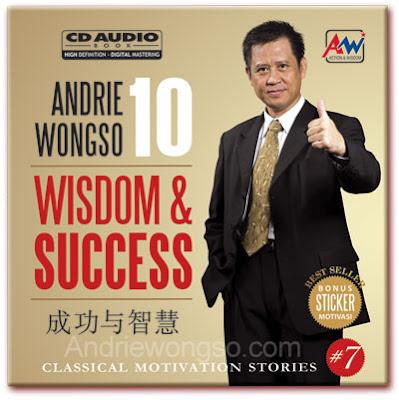 Andrie Wongso Motivator Indonesia SDDT TBS (Sekolah Dasar Tidak Tamat, Tapi Bisa Sukses)