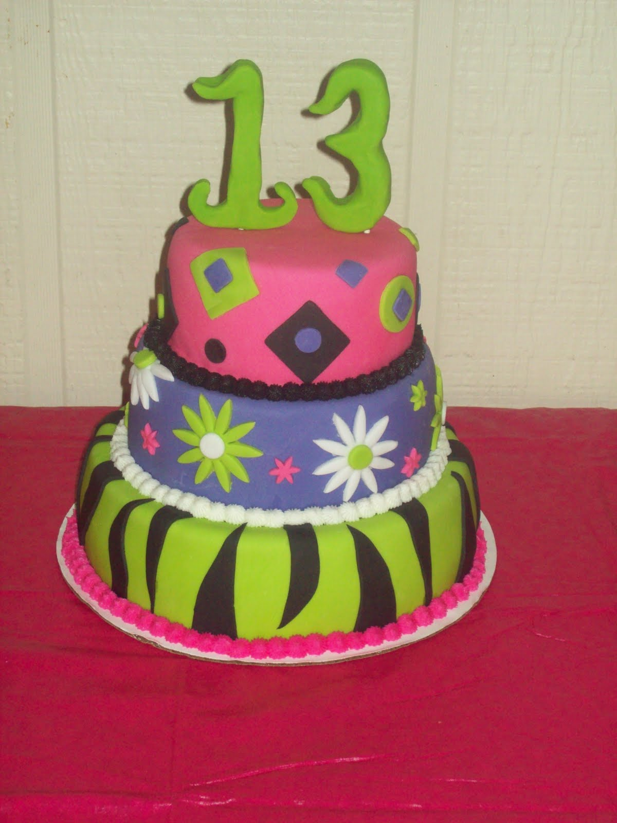 Cake Ideas For A 13th Birthday Party : Pin 13th Birthday Party Ideas For Girls Best Cake on Pinterest