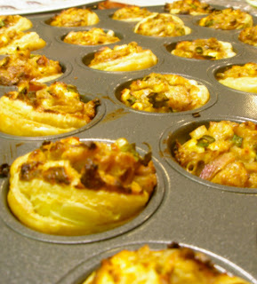Off The Wall: Caramelized Onion and Feta Tartlets