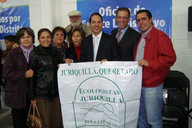 ECOLOGISTAS CON PRESIDENTE MUNICIPAL DE QUERETARO