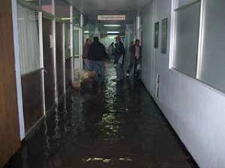 INUNDACION DEL HOSPITAL DE SAN JUAN DEL RIO