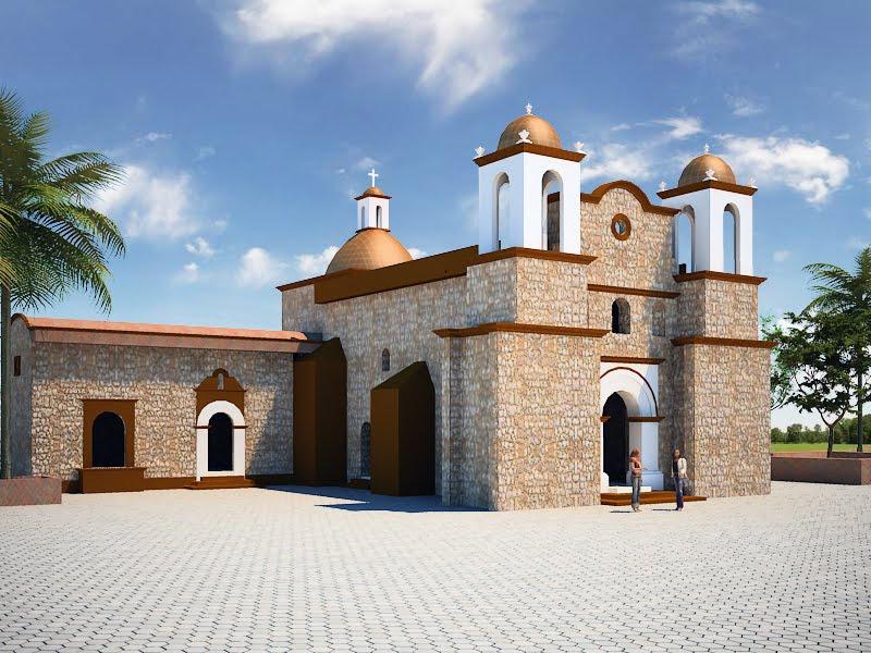 Arquitectura virtual una iglesia for Arquitectura virtual