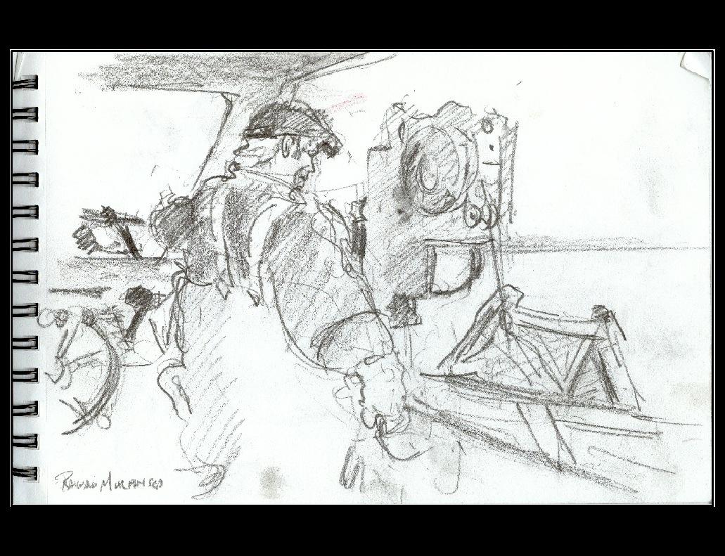 Art Plein Air Carnets De Peche Au Homard A Perce Croquis Rapides Faits A Bord D Un Bateau