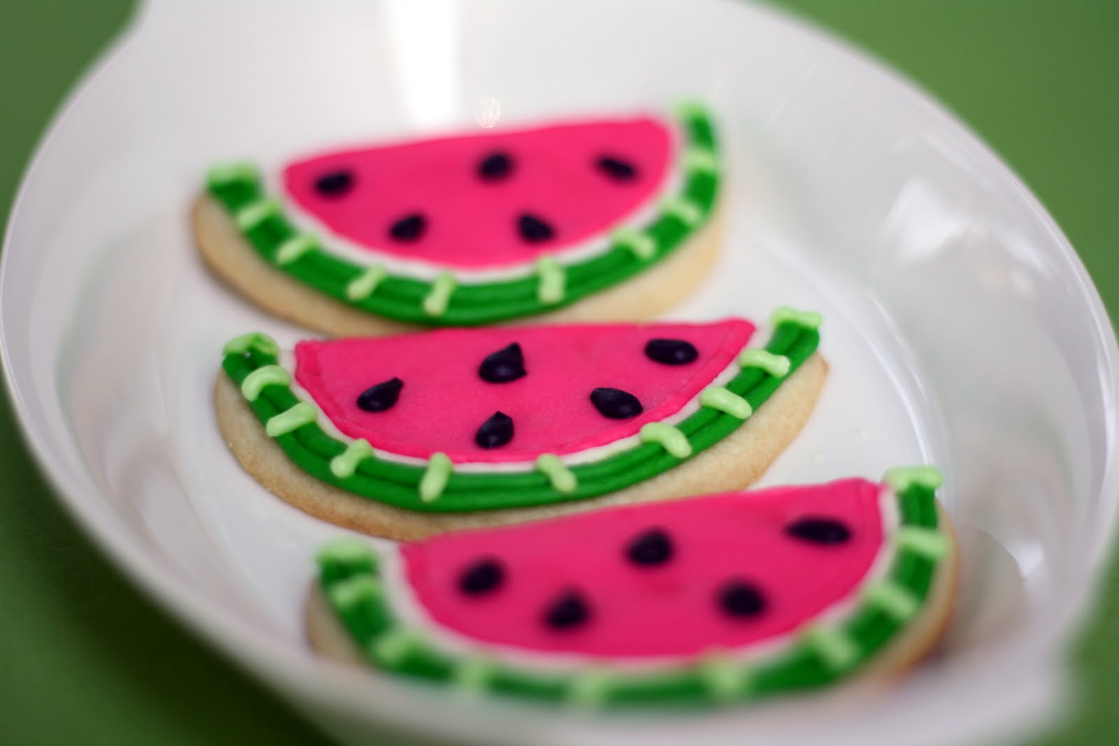 Coco Is Cooking: Watermelon Decorated Sugar Cookies