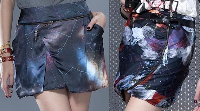 Saias Cintura Alta Espaço Fashion