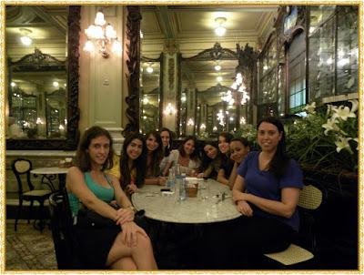 Encontrinho Blogueiras na Confeitaria Colombo