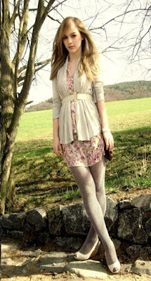 Moda Cardigan e Cinto Nathalie Lookbook