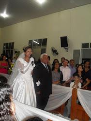 CASAMENTO DE LETICIA E JESAIAS