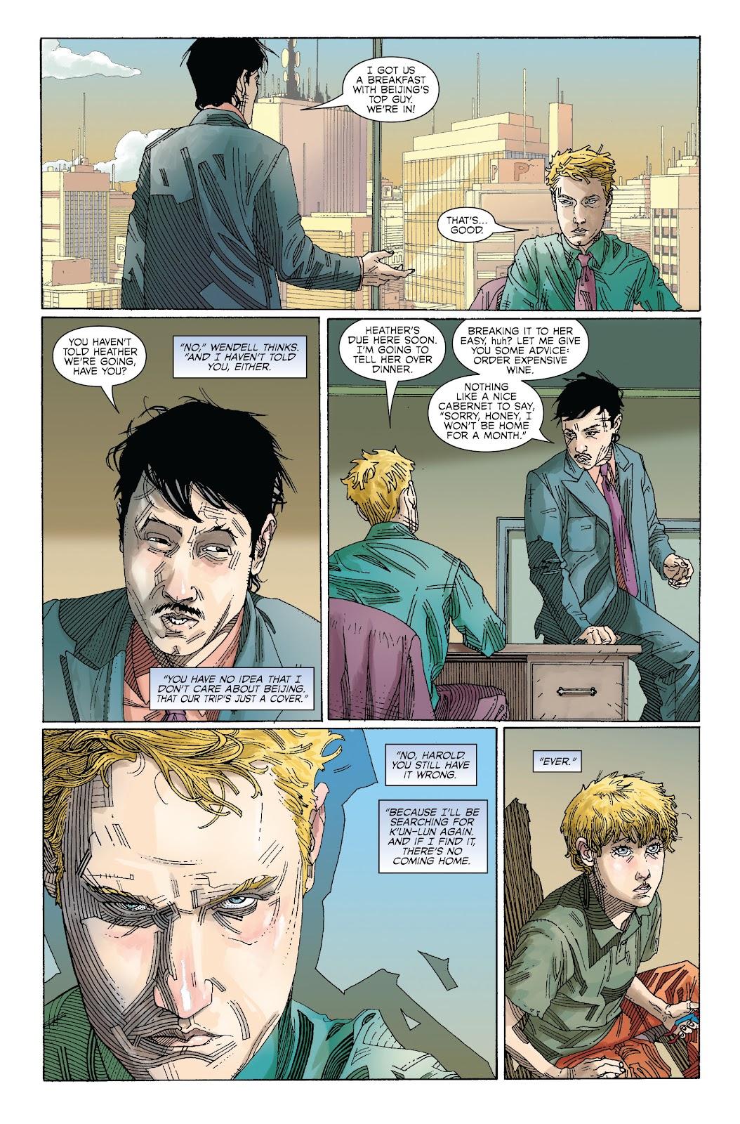 The Immortal Iron Fist Issue #27 #28 - English 10