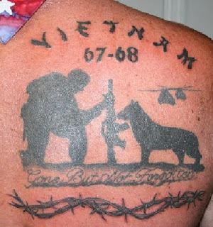 Recent News Report About Military Tattoos Said Tattoos Are A Military