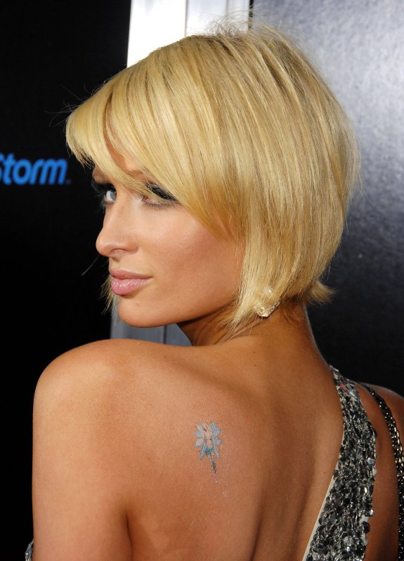 Paris Hilton Tattoo Styles
