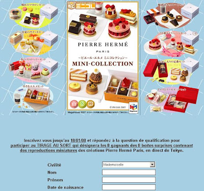 Maison Pierre Herme Desserts Mini Collection