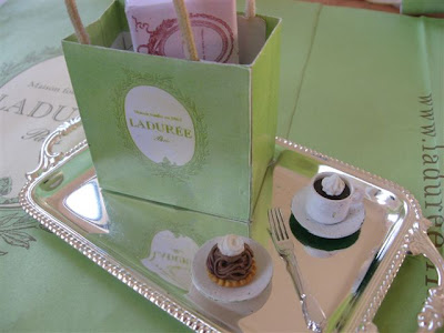 My Laduree lunch today