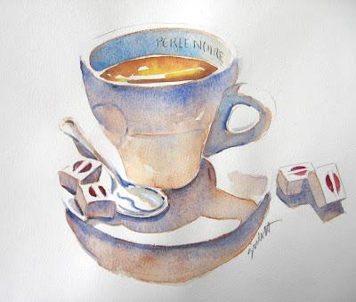 Perle Noire Arabica coffee