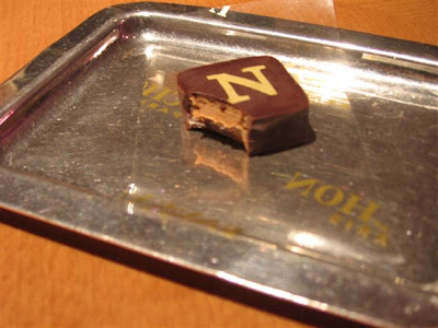 A last Fauchon chocolate