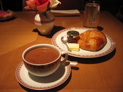 Petit Dejeuner at Fauchon