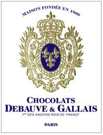 DEBAUVE et GALLAIS blue and grey coat of arms