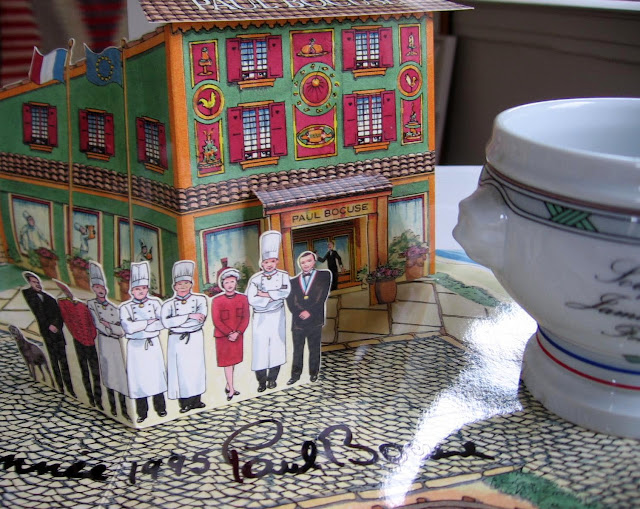 1995 New Year's card from Paul Bocuse