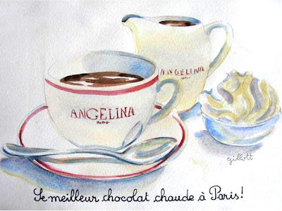Dedicated to Angelina's chocolat chaud