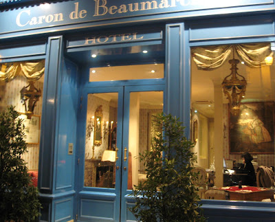 Hotel Beaumarchaise in the Marais