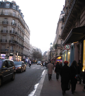 Dusk in the Marais