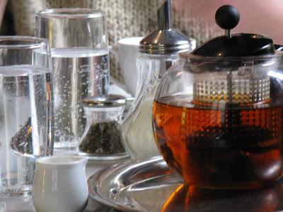 Austrian teapot in Cafe Sabarsky