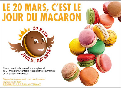 Pierre Herme Jour du Macaron