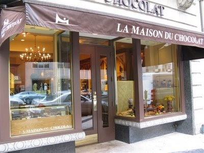 Paris breakfasts la maison du chocolat ganache - La maison du canape paris ...