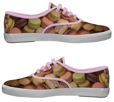 macaron shoes on zazzle
