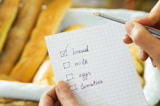 Shopping List for Food