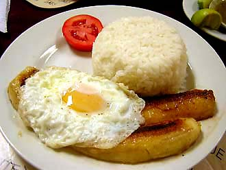 arroz a la cubana - free recipe