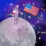 neil armstrong moon myth