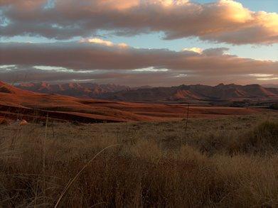 South Africa amazing at dusk