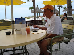 "My ""Branch Office"" on the beach"
