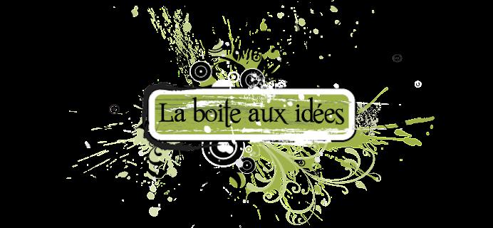 La boite aux id es - Boite a idees synonyme ...