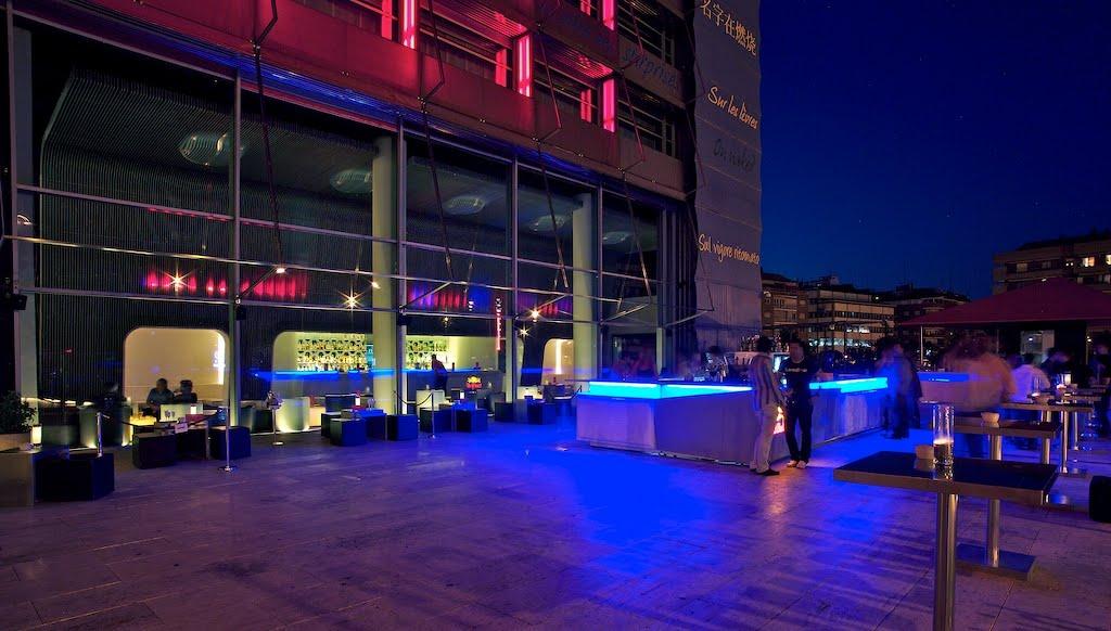 Madrid Noche Terrazas Fuse En El Hotel Puerta De Am Rica