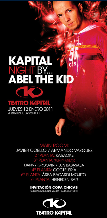 Madrid noche kapital jueves 13 01 for Kapital jueves gratis