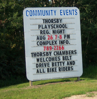 Rider Friendly Town of Thorsby