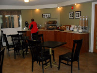 The Breakfast Room - larger than at many of the Comfort Inns..