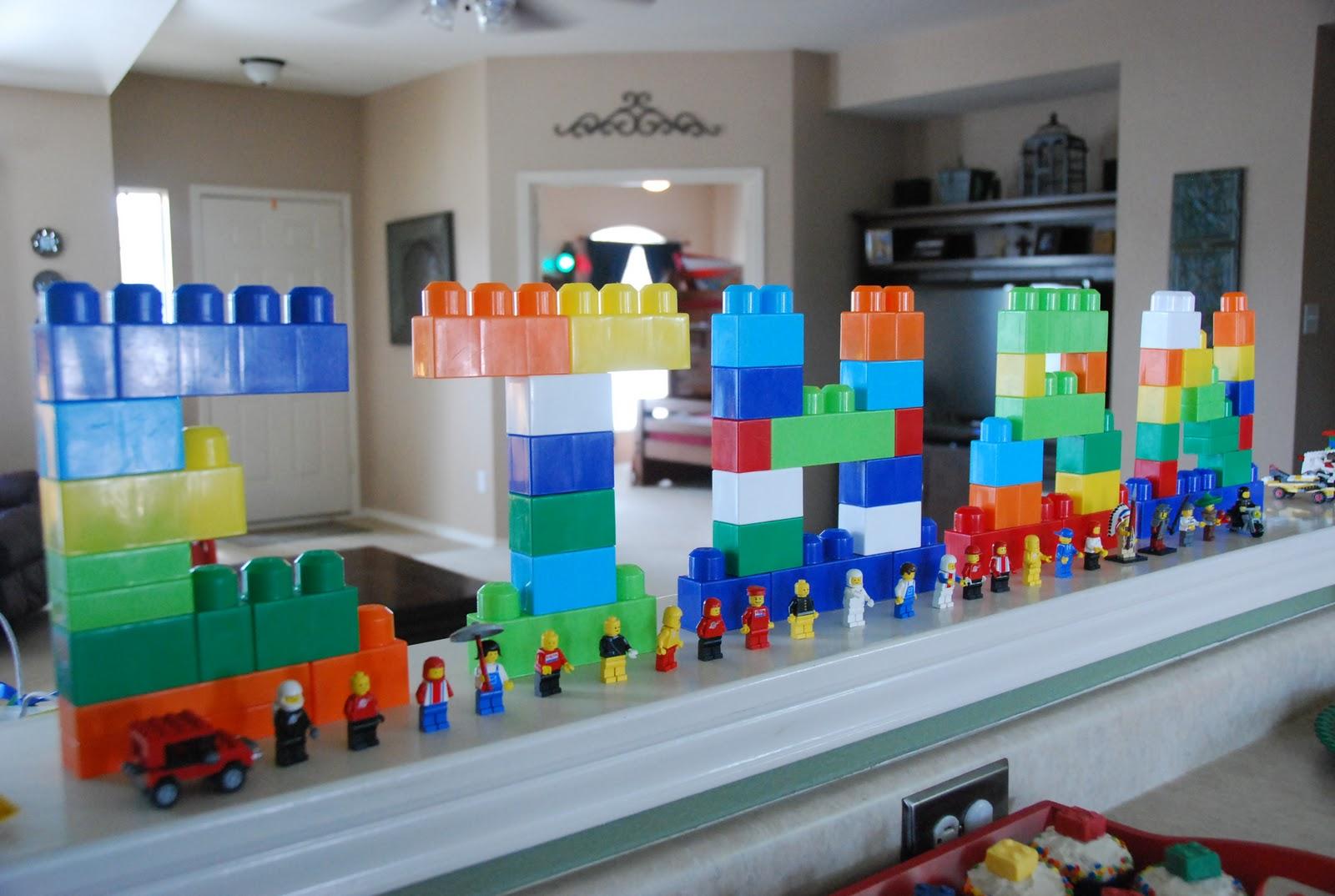 Soak it all in Ethans 6th Birthday Lego Party